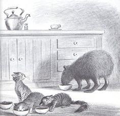 Nature Sketch, Walt Disney Animation Studios, Funny Wallpapers, Children's Book Illustration, Whimsical Art, Cool Artwork, Spirit Animal, Cat Art, Animal Drawings