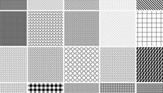 20 Seamless Pixel Photoshop Patterns Pack