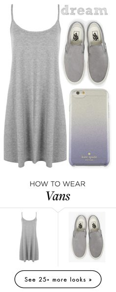 """""""dream"""" by j-n-a on Polyvore featuring Vans, Kate Spade and WearAll"""