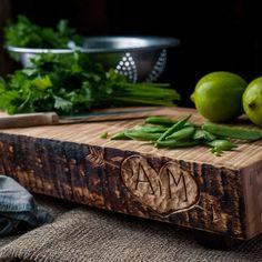 Custom Chopping Block - Personalized Wood Cutting Block - Personalized Wedding Gift - Wooden Chopping Board