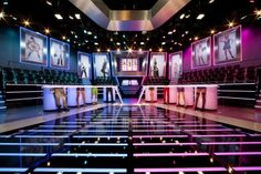 HOLLANDSE HANDEN B.V., HILVERSUM, SUMATRALAAN 45, 0356773947 Tv Set Design, Stage Design, Virtual Studio, New Program, Studio Design, Auditorium, Holland, Studios, Design Inspiration