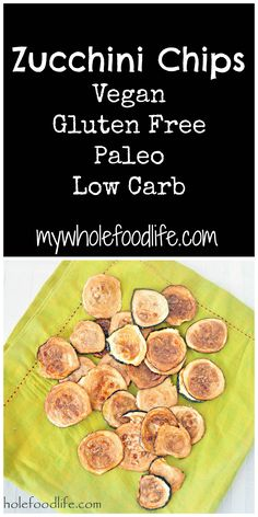 Do you crave chips?  Try this low carb option instead.  You will want to eat the whole tray! Vegan, gluten free and paleo.  Best. Snack. Ever.