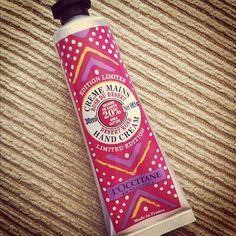 L'Occitane Limited Edition Hand Cream - Desert Rose. BEST HAND CREAM I EVER PURCHASED! ^^
