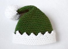 Little Helper Crochet Elf Hat