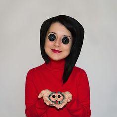 Coralines Andere Mutter Kostüm selber machen zu Karneval, Halloween & Fasching