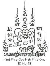 Znalezione obrazy dla zapytania sak yant meaning and designs