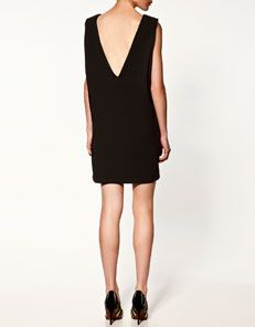 Zara, love the back of this dress.