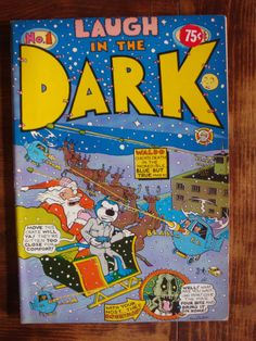 LAUGH IN THE DARK # 1 - LAST GASP ECO FUNNIES - .50 CENT COVER PRICE .75 CENT