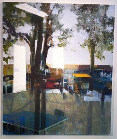 Annemieke Alberts 'Shelter'   oil on canvas
