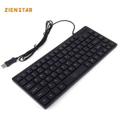 73399bb260b Skyblink 2015 NEW Arrival USB Wired Mini Keyboard Black Keyboard with 84  Keys for Laptop Desktop Gaming Basic Types