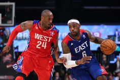 "Generazioni a confronto. Lebron ""King"" James vs Kobe ""Black Mamba"" Bryant. All Star Game 2013"