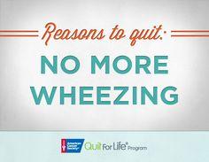 Breathe easier! #quitsmoking