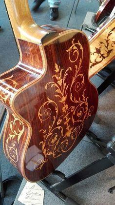 Acoustic Guitars – Page 9 – Learning Guitar Acoustic Guitar Chords, Classical Acoustic Guitar, Bass Ukulele, Ukelele, Jazz Guitar, Guitar Art, Cool Guitar, Guitar Painting, Unique Guitars