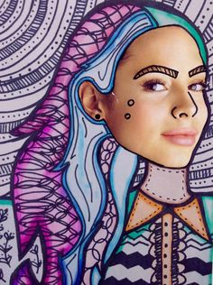 Surrealist Zentangle Portraits: Free Lesson Plan Download | The Art of Ed