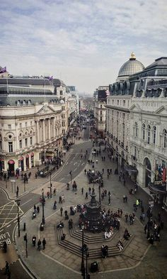 Piccadilly Circus view, London, ENGLAND  (by therealmikeyboy on Flickr)