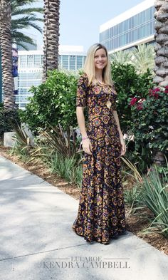The LuLaRoe Ana maxi dress... feel like a princess!