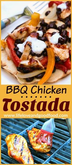 10 Most Misleading Foods That We Imagined Were Being Nutritious! Bbq Chicken Tostada Life, Love, And Good Food Grilled Burger Recipes, Grilled Turkey Burgers, Baked Chicken Recipes, Beef Recipes, Turkey Recipes, Diabetic Recipes, Grilling Recipes, Healthy Recipes, Chicken Tostadas