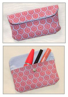 Trousse a maquillage Naomi ? Coin Couture, Couture Sewing, Sewing Crafts, Sewing Projects, Diy Pochette, Craft Stalls, Diy Bags Purses, Pouch Tutorial, Purse Organization