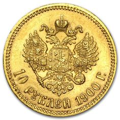 1900 Russia Gold 10 Roubles XF | Gold Coins from Russia | APMEX