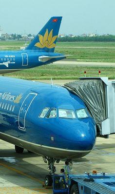 Vietnam Airline planes