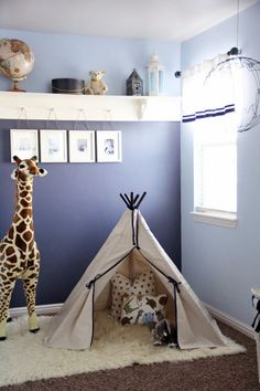 Idea for Reid's Room 6th Street Design School | Kirsten Krason Interiors : Safari Themed Room Reveal