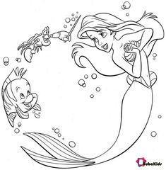 The Little Mermaid Coloring Page . 24 the Little Mermaid Coloring Page . Ariel From the Little Mermaid Coloring Page Ariel Coloring Pages, Free Disney Coloring Pages, Mermaid Coloring Book, Disney Princess Coloring Pages, Disney Princess Colors, Disney Colors, Cartoon Coloring Pages, Coloring Pages To Print, Free Printable Coloring Pages