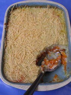 Gratin de carottes  Voir la recette dans la cuisine de Mémé Moniq