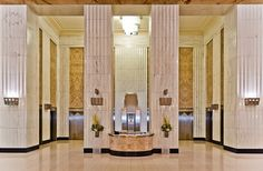 Lobby of Field Building (135 S LaSalle, Bank of America Building), 1934, GAPW, photo by Angie McMonigal, Flickr.