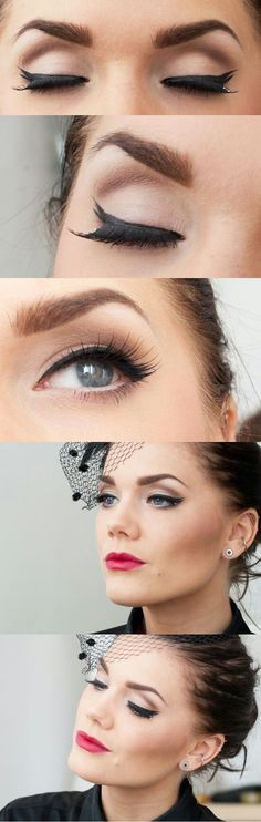makeup and the perfect eyebrows!!