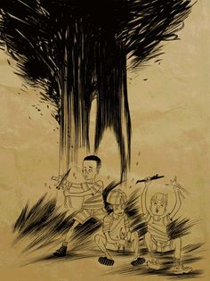 MONSTER:Tradd Moore  While inside the forest \Be silent, be cautious \Amongst shadows and trees \The Slender Manwatches