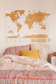 XL World Scratch Map