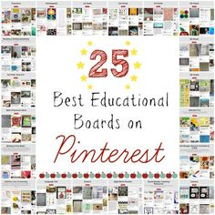 Best educational boards on Pinterest