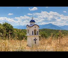 Kandylakia - Greek roadside shrine. Love to make one day for my yard.