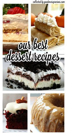 We asked 20 of our favorite food bloggers to share their VERY BEST dessert recipes with us and they did not disappoint! From holiday must-tries to decadent chocolate desserts to flavorful fruity favorites this list is sure to soothe your sweet tooth!