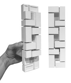 Arch Architecture, Arch Model, Cube Design, Facade Design, Willis Tower, House, Studio, Multifunctional, Concrete