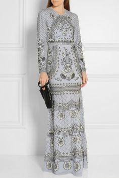 Needle & Thread | Embellished chiffon gown | NET-A-PORTER.COM