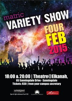 Matric Variety Show Christian School, Private School, Theatre, Theater
