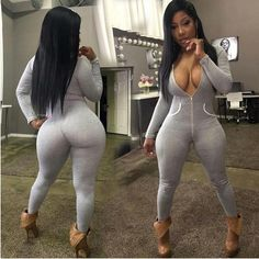 Curvy Outfits, Sexy Outfits, Rompers Women, Jumpsuits For Women, Women's Rompers, Look Fashion, Girl Fashion, Fashion Women, One Piece Outfit