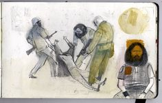 Jorge Gonzalez, Illustrators, Walls, Portraits, Modern, People, Painting, Art, Sketchbooks