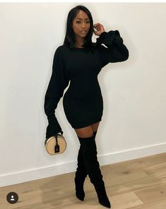 40 Amazing Spring Outfits for Black Women Style /. 40 Amazing Spring Outfits for Black Women Style /. Winter Outfits For Teen Girls, Casual Fall Outfits, Classy Outfits, Spring Outfits, White Outfits, Spring Clothes, All Black Outfits For Women, Casual Clothes, Black Women Fashion
