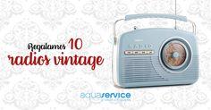 ¡Gana una radio vintage con Aquaservice para el Día del Padre!