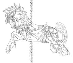 carousel horse tattoo page tattoo coloring pages Embroidery . Horse Coloring Pages, Colouring Pages, Coloring Books, Coloring Pages For Grown Ups, Adult Coloring Pages, Carousel Horse Tattoos, Carosel Horse, To Color, Color Art