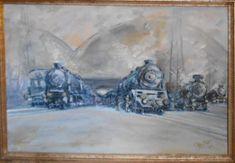 Praha Wilsonovo Painting, Art, Art Background, Painting Art, Kunst, Paintings, Performing Arts, Painted Canvas, Drawings