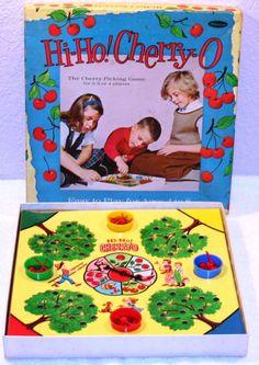 * Hi Ho Cherry-O Board Game *