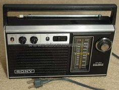 Radio SONY TFM-7250W