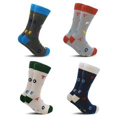 Socks Realistic Summer Letter Patterned Art Socks Women Skateboard Harajuku Short Socks Soft Breathable Cotton Socks Funny Sox Dropshipping