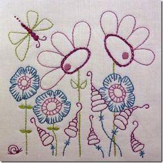 butterfly & flowers freebie