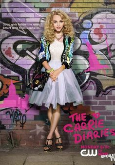 'Carrie' Dons Iconic Look The Carrie Diaries THe show is cute, different than the book but it always is.The Carrie Diaries THe show is cute, different than the book but it always is. Annasophia Robb, Carrie Bradshaw Estilo, The Carrie Diaries, Cw Series, 80s Outfit, Celebs, Celebrities, 80s Fashion, Luna Fashion