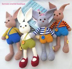 Beautiful pattern from I love it so much that I made more than one! More Than One, Beautiful Patterns, Dinosaur Stuffed Animal, My Love, Crochet, Knit Crochet, Crocheting, Chrochet, Hooks