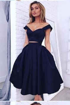0364ad068c4c0 Customized Outstanding Homecoming Dress Two Piece Outlet Comfortable Two  Pieces Homecoming Dress, Short Homecoming Dress, Homecoming Dress Plus Size